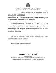 oficio 290-16 - cedae - esgoto - vazamento - abadiana.doc
