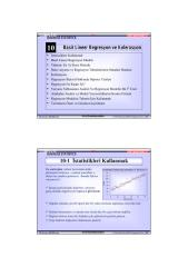 Basit Do�rusal Regresyon ve Korelasyon.pdf