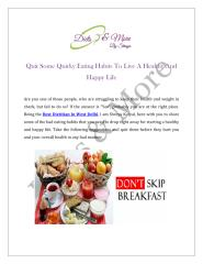 Quit-Some-Quirky-Eating-Habits-To-Live-A-Healthy-And-Happy-Life.PDF