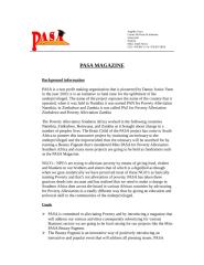 PASA MAGAZINE PROPOSAL.doc