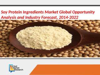 Soy Protein Ingredients Market.pptx