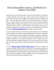 BA Training Online Courses Certification To Enhance Skills.pdf