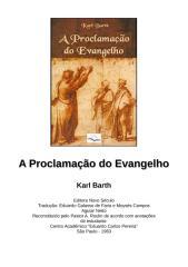 karl barth - a proclamação do evangelho.doc