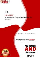 HP0-M101 PDF Questions With Authentic Answers.pdf