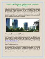 Invest in Right Residential and Commercial Project with Trusted Developers.pdf
