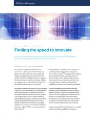 Finding the speed to innovate.pdf