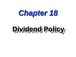 dividend new.ppt